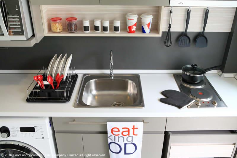 ห้องครัว และ อ่างล้างจาน ไอเดียแต่งห้องครัวจากแลนด์ แอนด์ เฮ้าส์