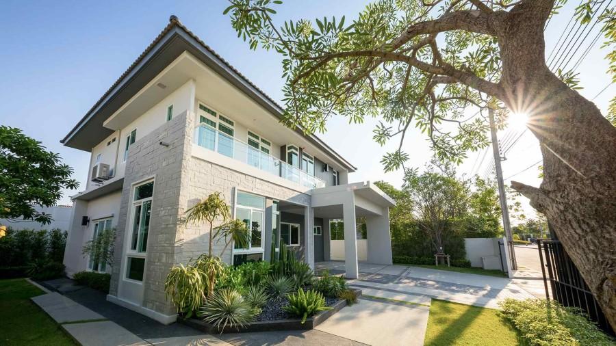 บ้าน มัณฑนา มอเตอร์เวย์-กรุงเทพกรีฑาตัดใหม่